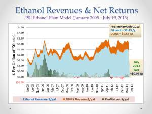 U.S. Ethanol Mkt_Revenues Profits_July 23, 2013