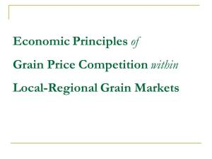 MAST Econ Principles of Grain Handling_slide 3 (O'Brien) Sept 3, 2013